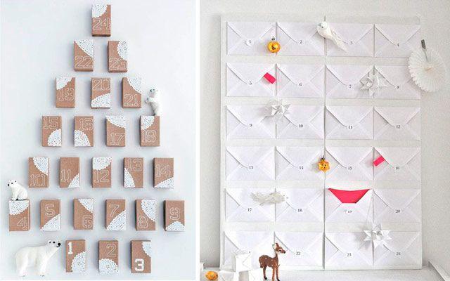 25 Originales calendarios de adviento