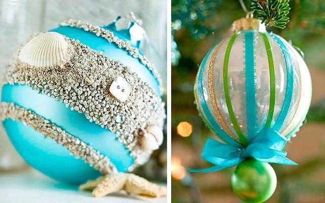 Complementos para el árbol: bolas de cristal