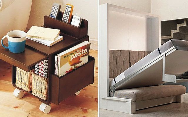 9 ideas para decorar espacios peque os for Muebles para departamentos reducidos