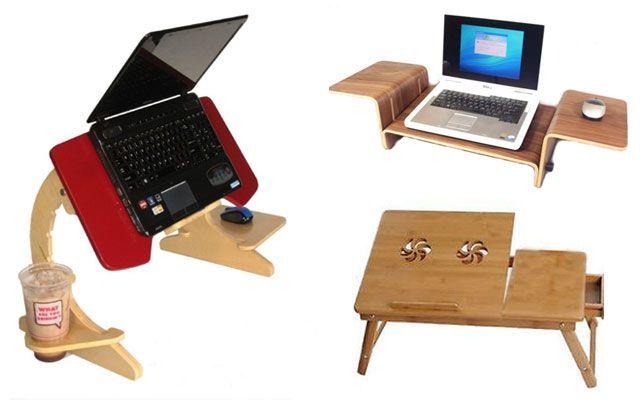 Complementos y accesorios para colocar el portatil - Mesa para portatil ikea ...