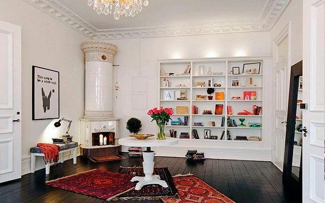 chimeneas suecas para la decoracin de salones