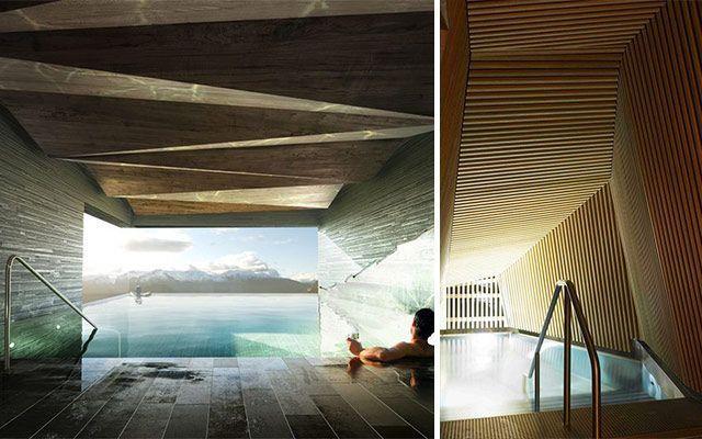 Decoración de spas de diseño