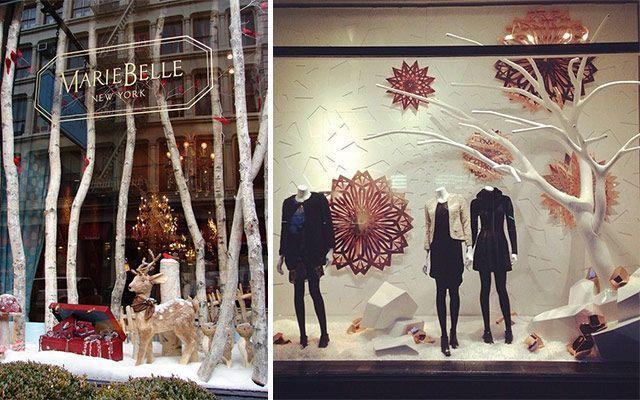 Ideas para decorar escaparates de invierno - Aparadores originales ...