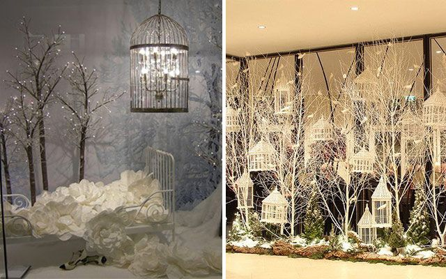Ideas para decorar escaparates de invierno