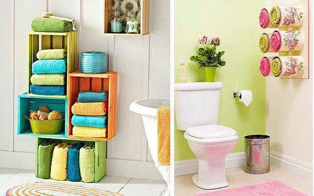 Ideas para almacenaje en ba os decofilia for Decoracion del hogar en pinterest