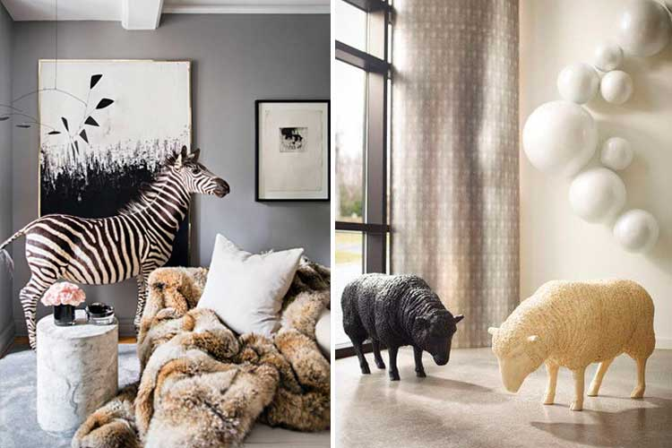 Decoración con animales