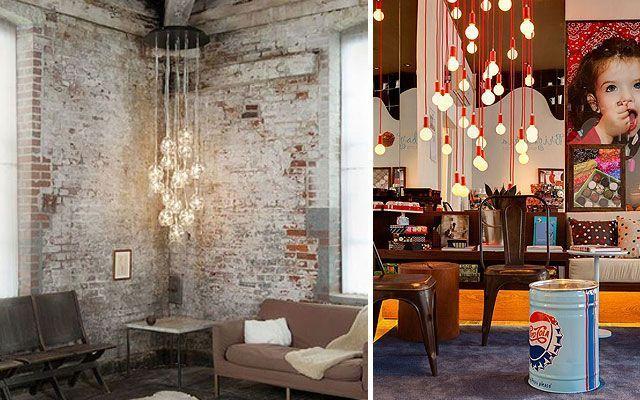 Las bombillas como elementos decorativos - Bombillas decoradas ...
