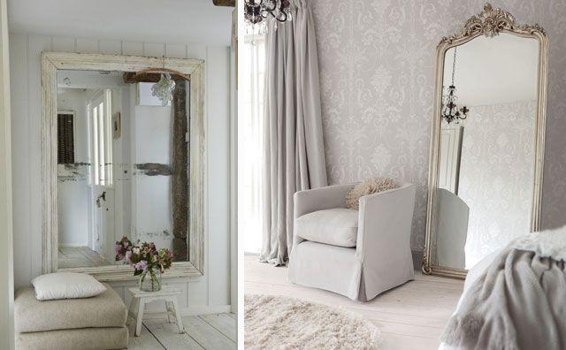 Ideas para decorar con espejos en el hogar for Espejos enteros para habitaciones