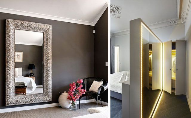 Ideas para decorar con espejos metropolirosa for Como colgar un espejo grande en la pared