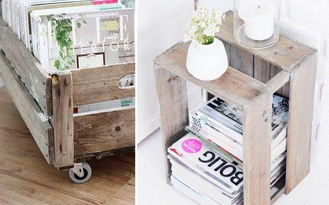 Ideas para decorar con revisteros