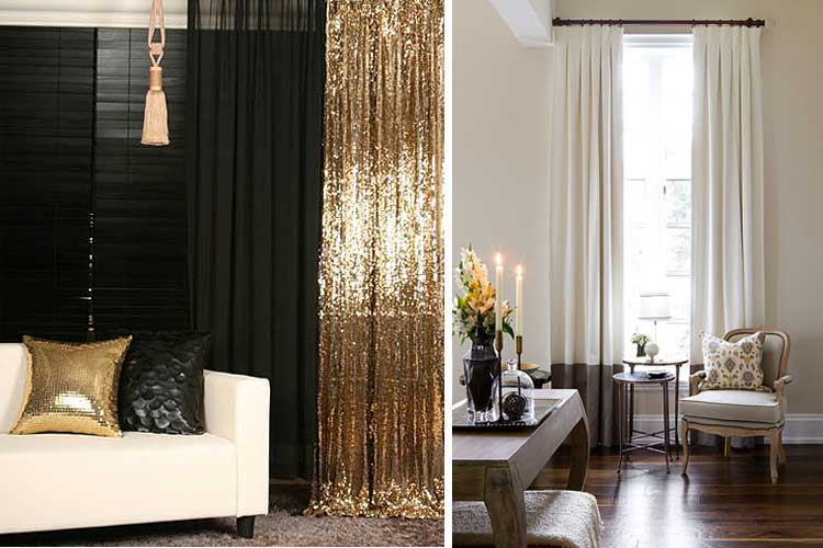 Cortinas para living decoracion for Cortinas modelos 2016