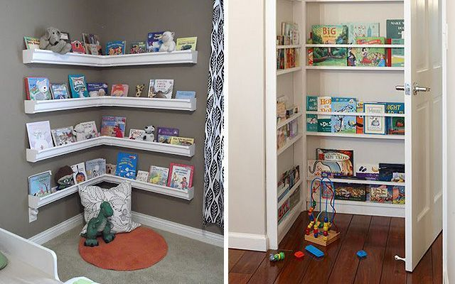 Cómo guardar juguetes en habitaciones infantiles