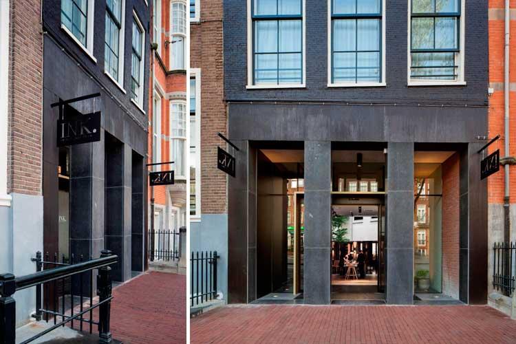 Hotel de diseño INK en Ámsterdam