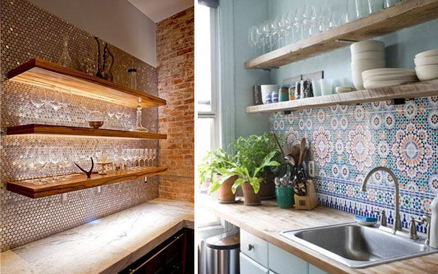 Ideas para decorar paredes de cocinas decofilia - Paredes de cocina ...