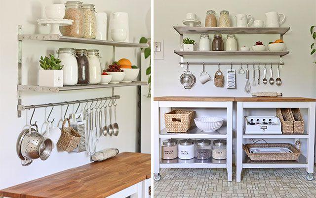 Decorar paredes de cocinas