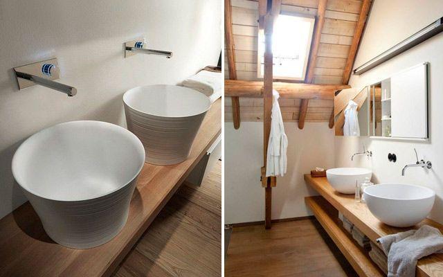 Muebles Baño Para Lavabos Sobre Encimera:hora de decantarse por un lavabo sobre encimera hay que decidir sobre