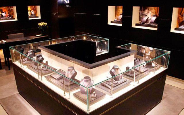 Muebles Joyeria : Diseño de joyerías lujo y sofisticación decofilia