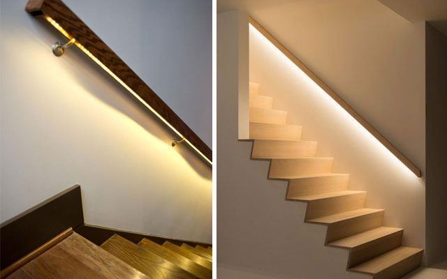 Merdivenleri aydınlatmak için fikirler