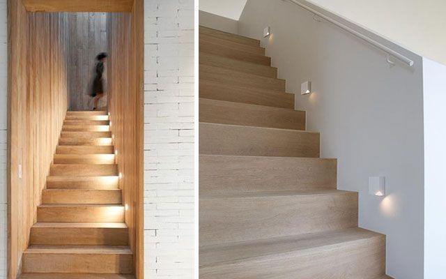 Ideas para decorar escaleras con luz - Iluminacion escaleras interiores ...