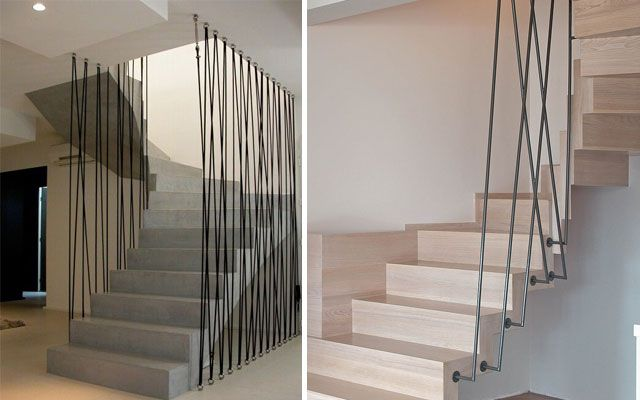 Pasamanos modernos para escaleras de dise o for Decoracion para pared de escaleras
