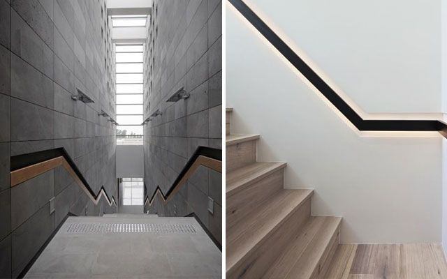 ideas para decorar con barandillas y pasamanos - Barandillas Escaleras Interiores