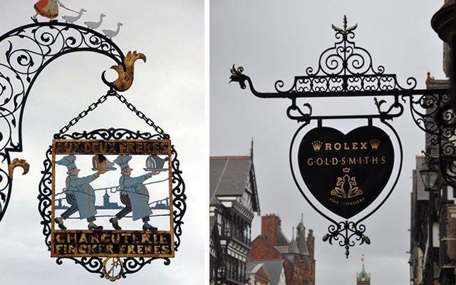Banderolas comerciales para la decoración de fachadas
