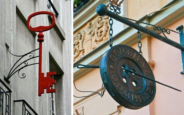 Banderolas para comercios y decoración de fachadas