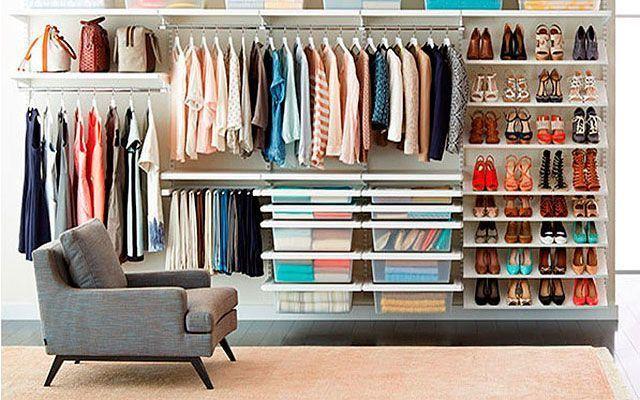 Cómo distribuir un vestidor-Decofilia.com