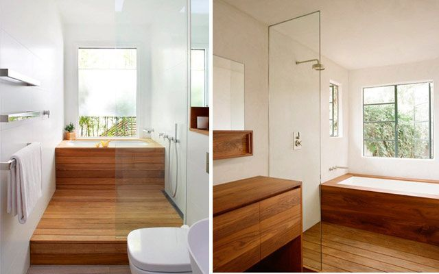 Diseño de duchas modernas