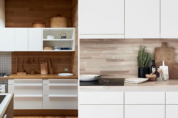 Revestimiento pared cocina dise os arquitect nicos for Revestimiento paredes cocina pvc