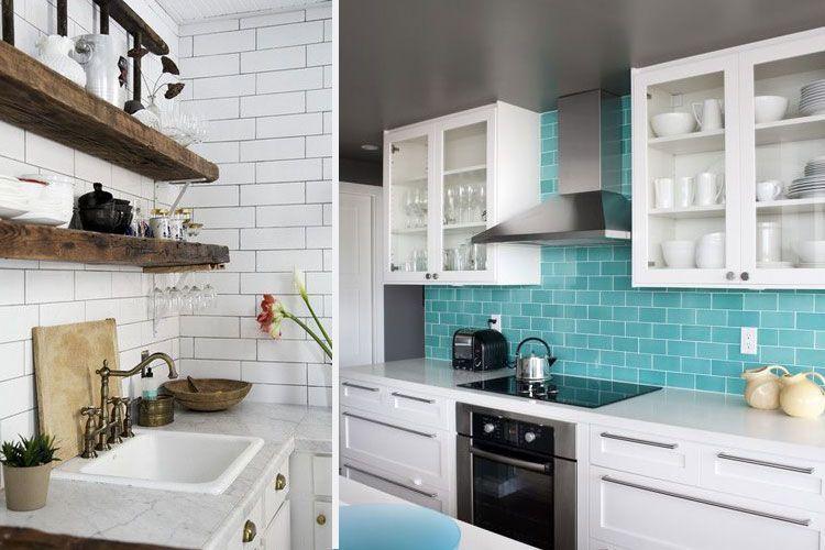 Revestimiento de frentes de cocina - Azulejo metro cocina ...