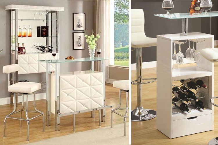 Salones con barra de bar trendy top top bar en casa by - Barra bar para salon ...