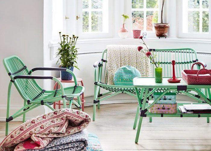 Colores frescos para una decoración de verano
