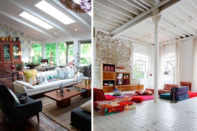 El encanto de los techos con vigas vistas for Lo ultimo en techos para casas