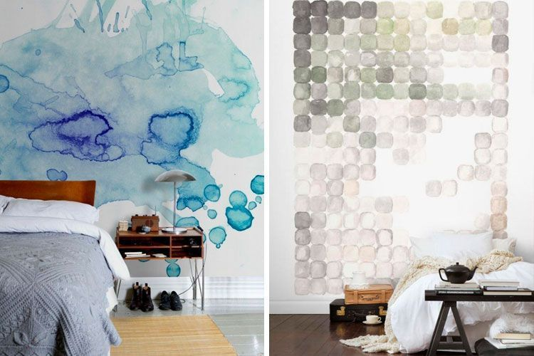 Ideas para decorar paredes con murales artsticos