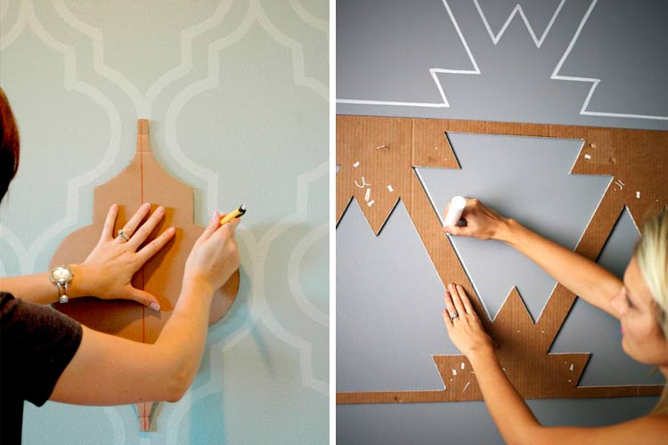 Ideas para decorar paredes con murales art sticos - Dibujos infantiles para decorar paredes ...