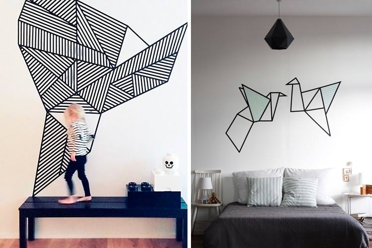 ideas para decorar paredes con murales art sticos
