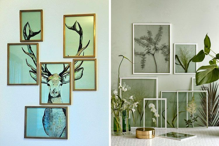 Ideas para decorar paredes con murales art sticos - Posters para decorar paredes ...