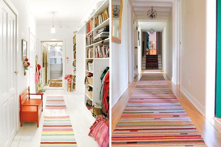 Ev dekorasyonunda ekstra uzun kilimler