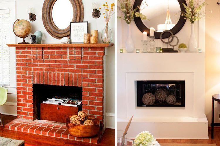 La chimenea decoracion ideas para decorar la chimenea de - Decorar un salon con chimenea ...