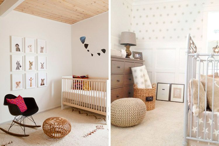 Ideas pintar cuarto de bebe for Decoracion pared bebes