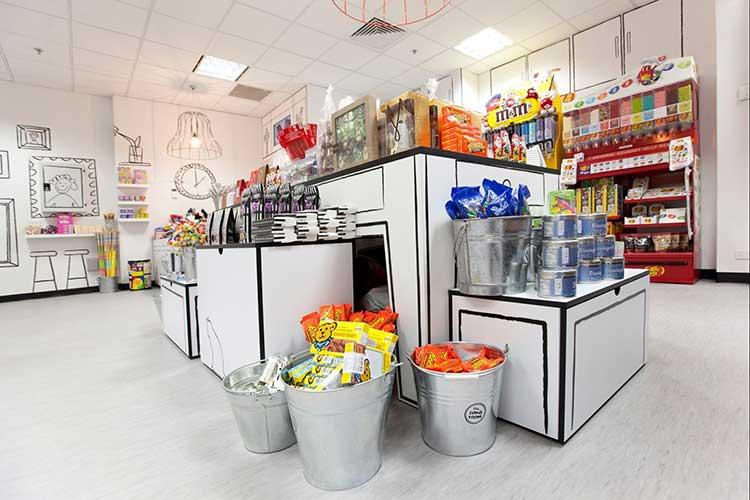 Tienda de golosinas de diseño