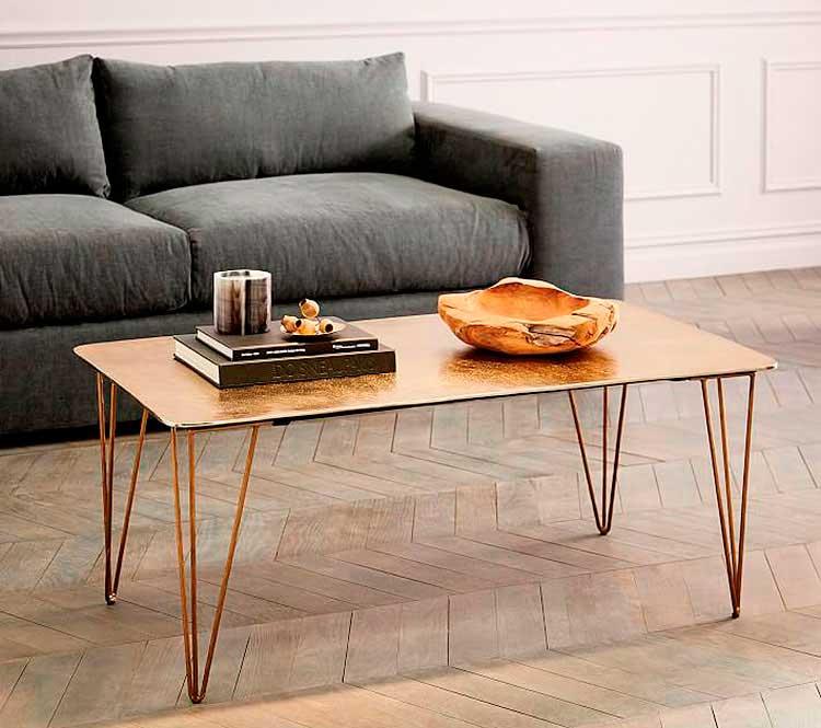 Tipos de mesas de centro