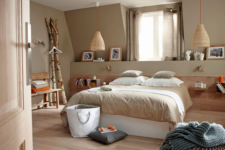 Cabeceros de obra para decorar tu dormitorio for Ambiance chambre a coucher adulte