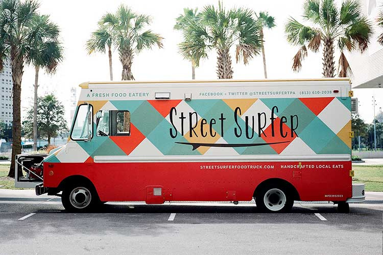 Food trucks design