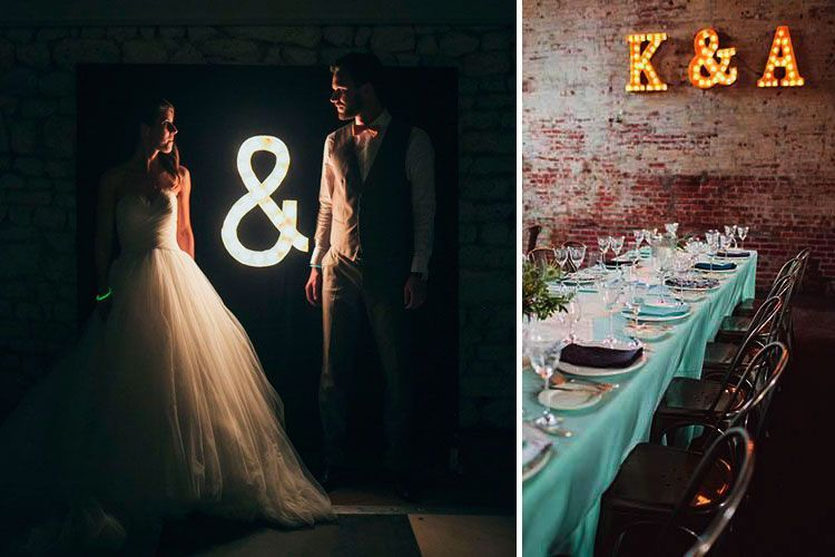 7 ideas de Iluminación de bodas de interior
