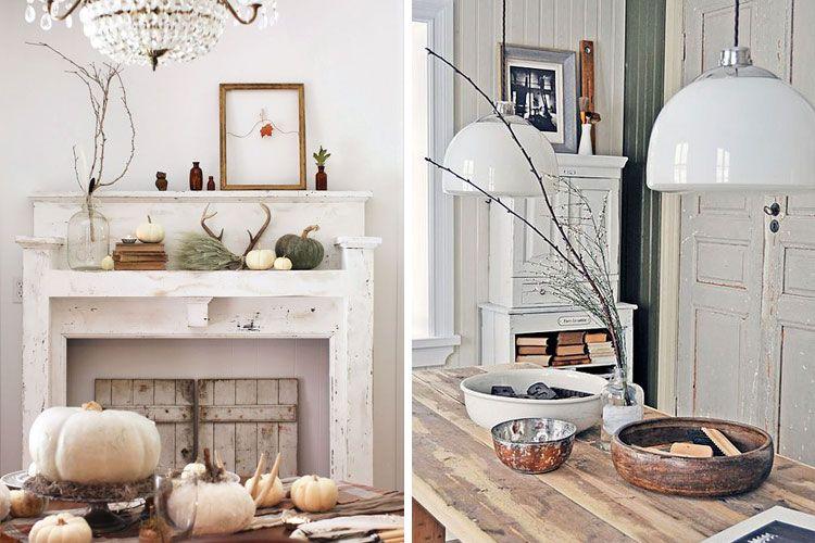 Decoración de otoño para el hogar