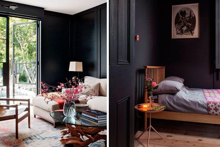 Trucos para decorar con colores oscuros