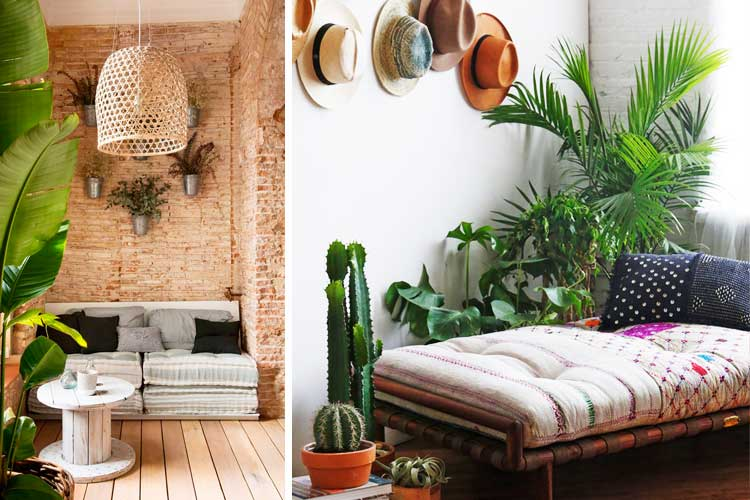 Tendencias decoración 2017 - vegetación
