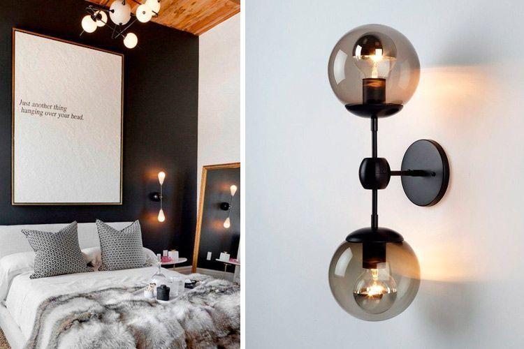 Apliques de estilo industrial y contemporáneo para decorar